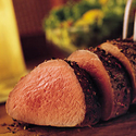 Pepper and Herb-Crusted Beef Tenderloin